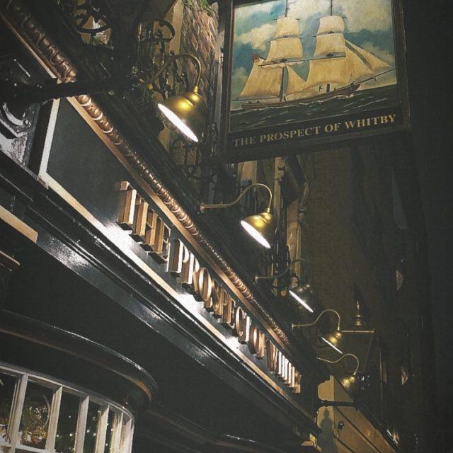 Exploring Riverside Pubs At Wapping, London